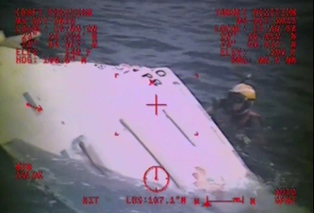 "Wrak statku ""El Faro"" /AFP"