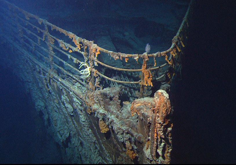 Wrak statku Titanic. Fot. NOAA/Institute for Exploration/University of Rhode Island /materiały prasowe