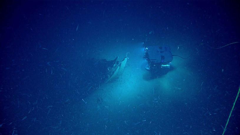 Wrak statku został znaleziony przez jednostkę badawczą Okeanos /materiały prasowe