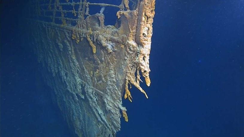 Wrak Titanica jest w coraz gorszym stanie /Fot. Atlantic Productions /materiały prasowe