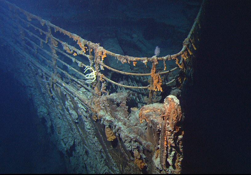 Wrak Titanica /materiały prasowe
