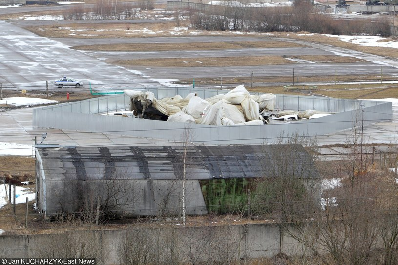 Wrak Tu-154M na lotnisku Siewiernyj /Jan Kucharzyk /East News