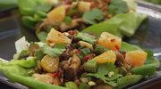 """Wrapy masłowe z warzywami (""""Sin Cai Bao"""")"""
