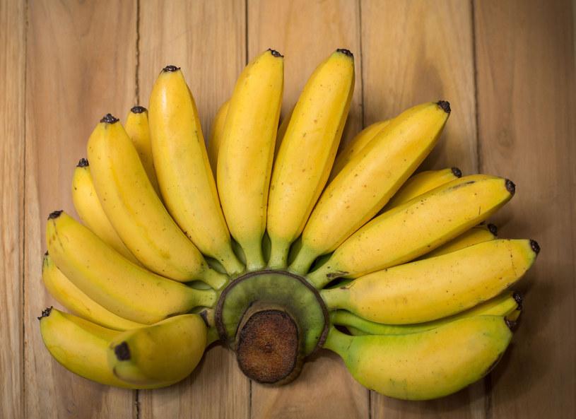 Wraz z bananami powraca serotonina, która sprawia, że stajemy się naprawdę szczęśliwsi /Picsel /123RF/PICSEL