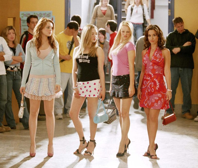 Wredne dziewczyny? Lindsay Lohan, Amanda Seyfried, Rachel McAdams i Lacey Chabert /materiały prasowe