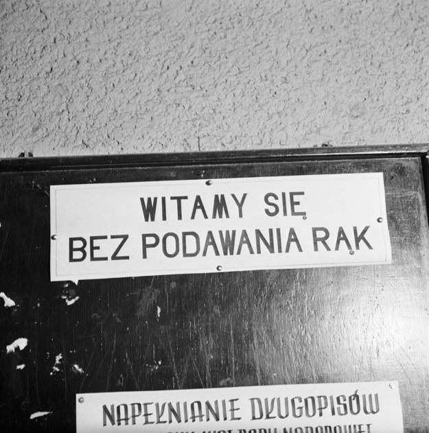 Wrocław 1963r. Epidemia ospy we Wrocławiu. /Eugeniusz Wołoszczuk (CAF) /PAP