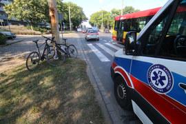Wrocław: Autobus potrącił rowerzystów
