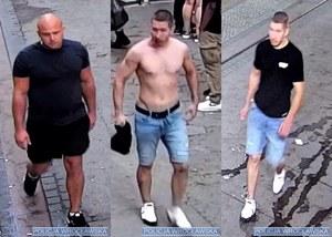 Wrocław: Policja poszukuje trzech osób w związku z pobiciem mężczyzny