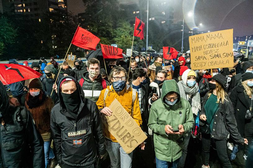 Wrocław: Protesty po wyroku TK ws. aborcji /Krzysztof Kaniewski/REPORTER /East News