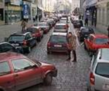 Wrocław stoi w korku