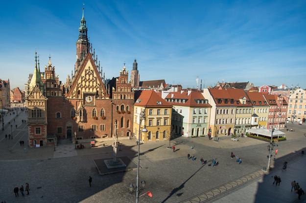 Wrocław / Maciej Kulczyński    /PAP
