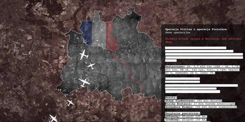 Wrocławska firma Contentplus pracuje nad interaktywnymi e-materiałami do nauki wielu przedmiotów, na zdjęciu screen z prezentacji dotyczącej jednej z lekcji historii /INTERIA.PL