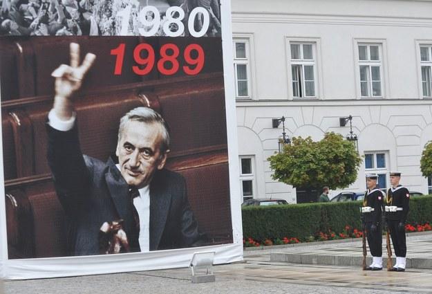 Wrzesień 2014, przed Pałacem Prezydenckim /Witold Rozbicki/REPORTER /East News