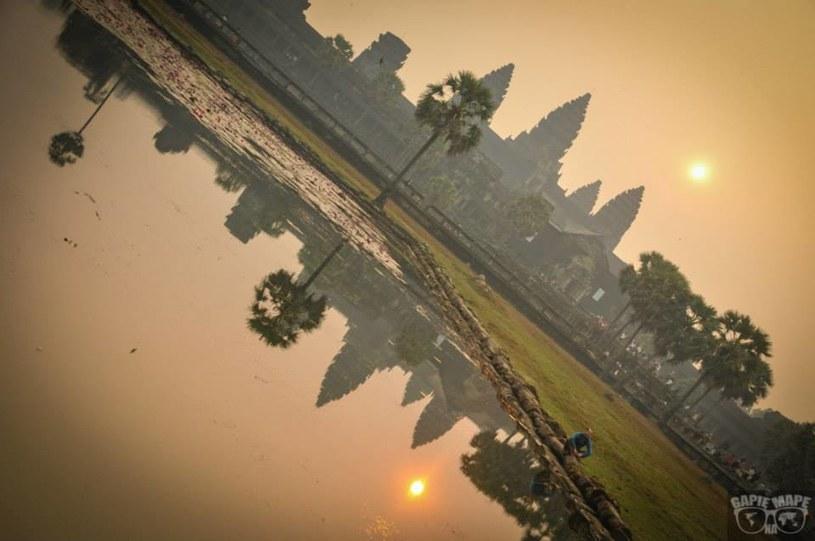 Wschód słońca - Angkor Wat, Kambodża /Informacja prasowa