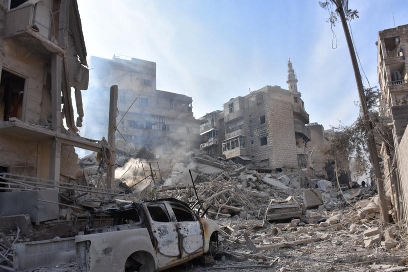 Wschodnie dzielnice Aleppo były kontrolowane przez rebeliantów od lipca 2012 roku /GEORGE OURFALIAN  /AFP