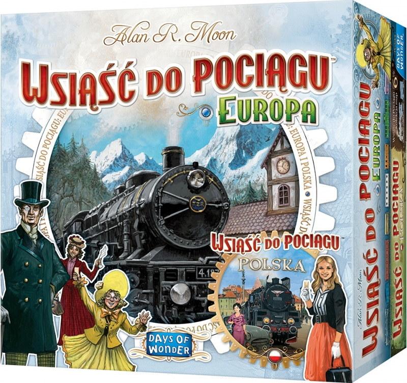 Wsiąść do pociągu: Polska i Europa /materiały prasowe