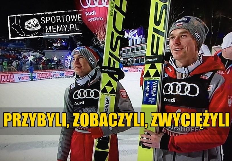 Wspaniały sukces Polaków! /Sportowememy.pl /Internet