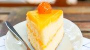 Wspaniały tort śmietankowo-pomarańczowy