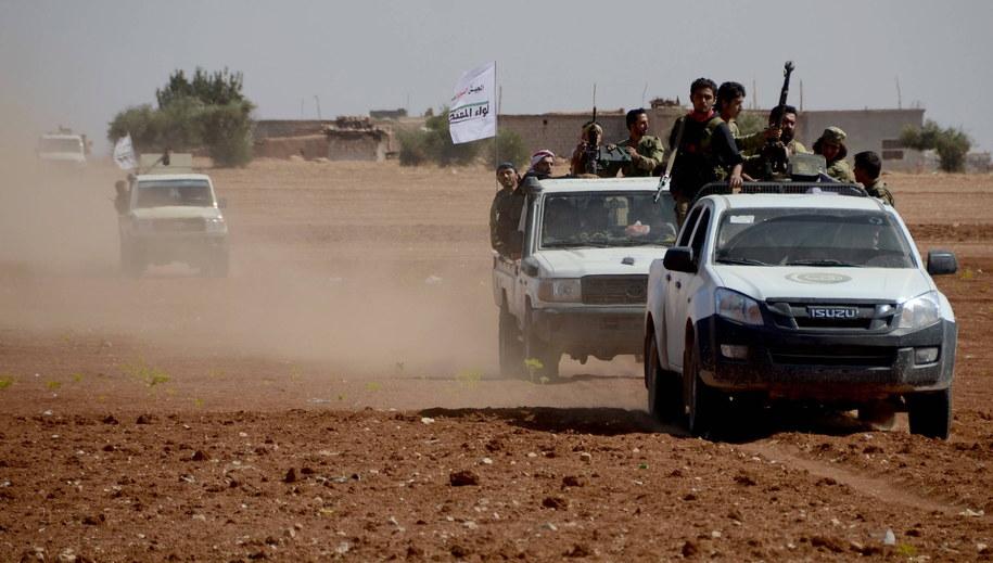 Wspierani przez Turcję syryjscy rebelianci opanowali w niedzielę miasteczko Dabik. Zdj. ilustracyjne /Abaca /PAP/EPA