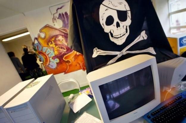 Wspieranie piractwa ma już charakter światopoglądowy /AFP