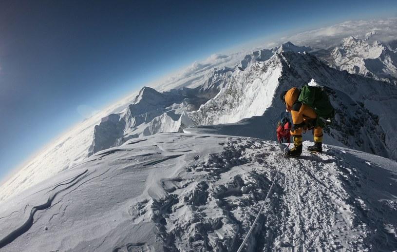 Wspinaczka na Mount Everest /AFP