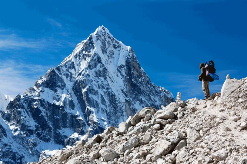 """""""Wspinanie się na najwyższe góry świata to zajęcie elitarne"""" /123RF/PICSEL"""