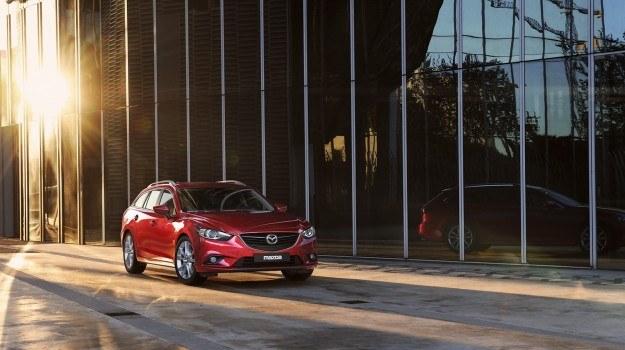 Współczynnik oporu powietrza nadwozia Mazdy 6 Sport Kombi wynosi niewiele, bo 0,28 (sedan: 0,26). /Mazda