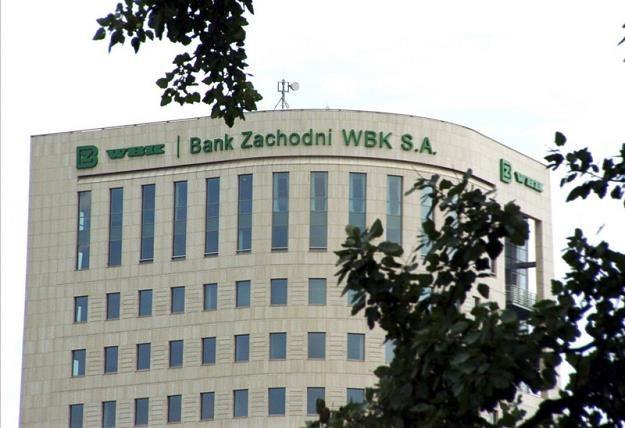 Współczynnik wypłacalności w BZ WBK jest na poziomie 13,44 proc. Fot. Lech Gawuc /Reporter