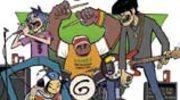 Wspólne nagranie D12 i Gorillaz w Internecie