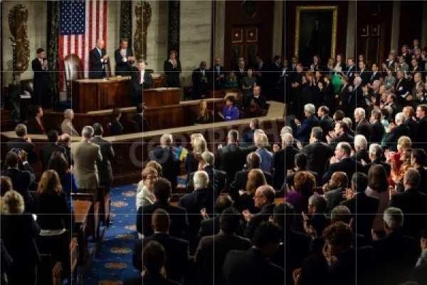 wspólne posiedzenie Izby Reprezentantów i Senatu USA, zdj. ilustracyjne /123RF/PICSEL