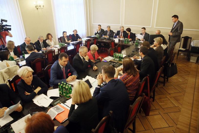 Wspólne posiedzenie sejmowych Komisji: Sprawiedliwości i Praw Człowieka oraz Zdrowia /Tomasz Gzell   (PAP) /PAP