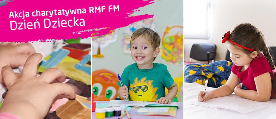 Wspólnie możemy pomóc chorym dzieciom! /RMF FM
