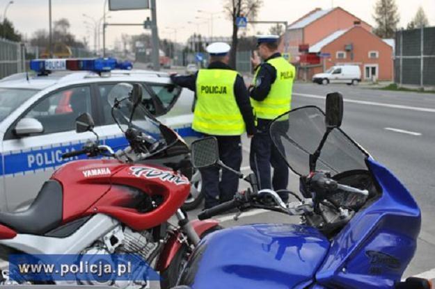 Wspólny patrol policyjno-motocyklowy /Policja