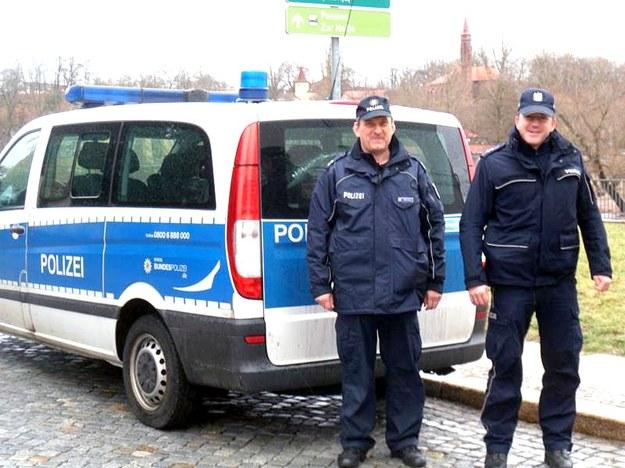 Współpraca polskiej i niemieckiej policji /KWP Gorzów Wielkopolski