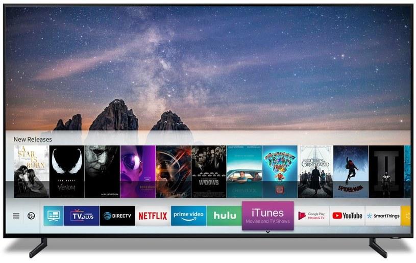 Współpraca Samsunga z Apple to ważny moment, to także jasny sygnał, że Apple nie planuje stworzyć własnego telewizora /materiały prasowe