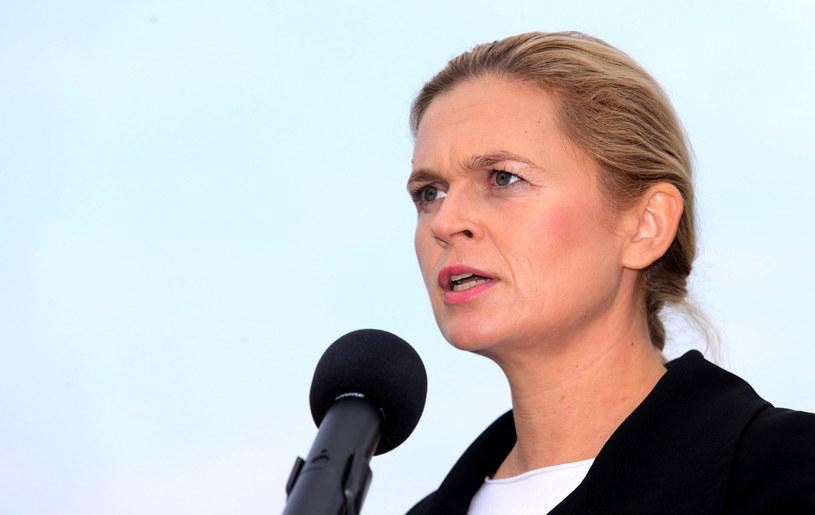 Współprzewodnicząca Twojego Ruchu Barbara Nowacka /Andrzej Grygiel /PAP