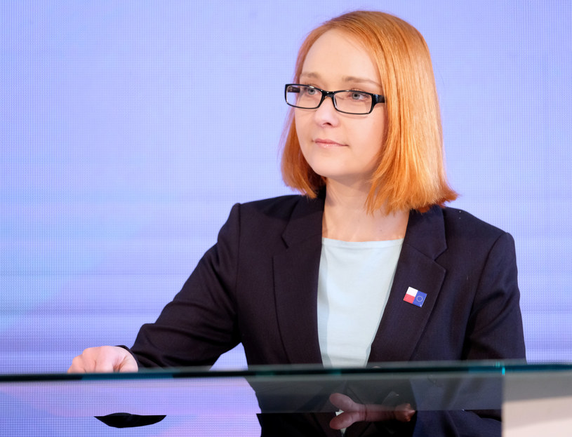 Współprzewodnicząca Zielonych Małgorzata Tracz /Mateusz Grochocki/ /East News