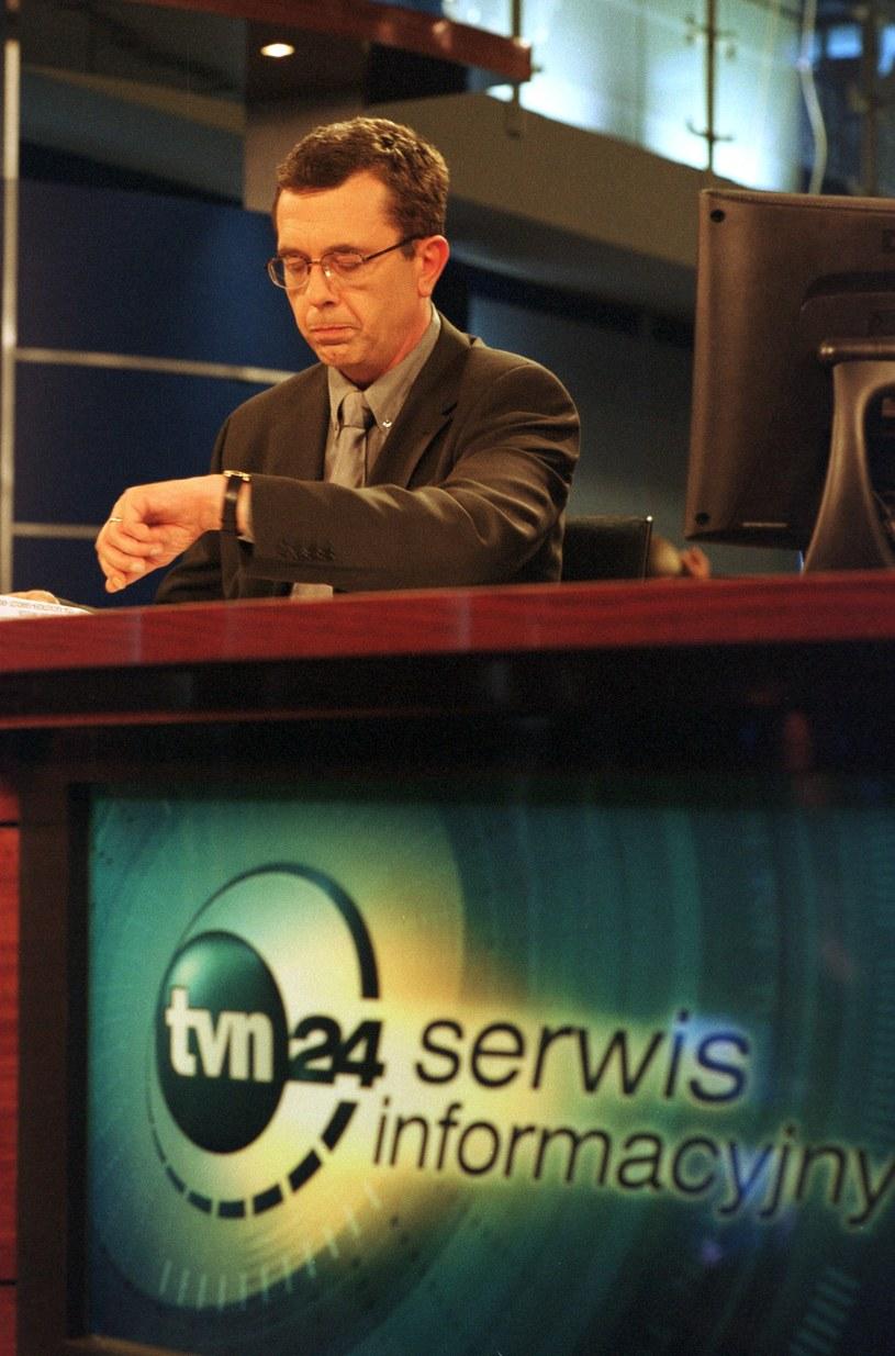 """Współzakładał TVN24, gdzie był szefem wydawców i dyrektorem publicystyki. Był także jednym z prowadzących programu """"Szkło kontaktowe"""" /Adam Chelstowski /Agencja FORUM"""