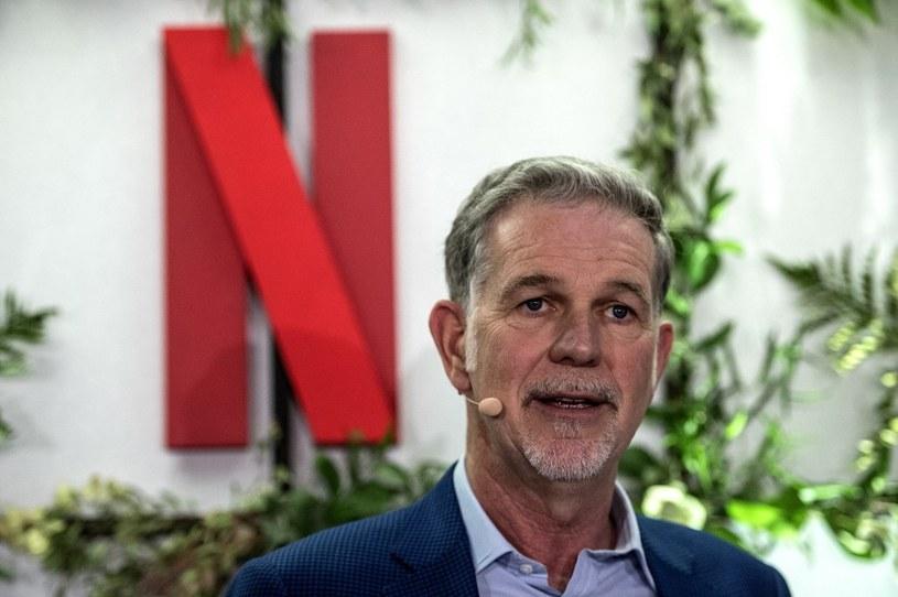 Współzałożyciel i szef Netfliksa, Reed Hastings, o tym, czy firma zablokuje dzielenie się kontami /AFP