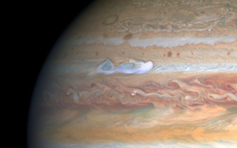 Wspomniana burza /NASA