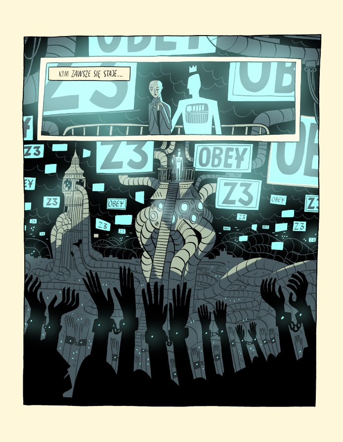 """Wspomniane przez Bretta """"granice dziwności"""" z powodzeniem przesuwa także komiks """"Super Naukoledzy 2099"""" /materiały prasowe"""