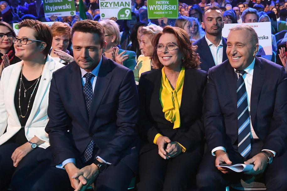 Wśród potencjalnych kandydatów wymieniani są Małgorzata Kidawa-Błońska i Rafał Trzaskowski / Radek Pietruszka   /PAP