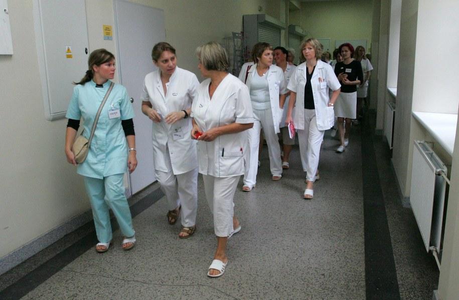Wśród protestujących mają być m.in. pielęgniarki /Agnieszka Wyderka /RMF FM