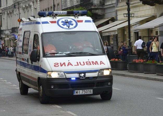 Wsród rannych są dzieci /Włodzimierz Wasyluk /Reporter