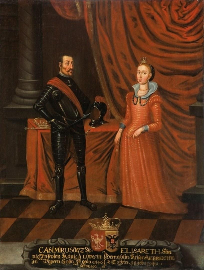 Wśród rekordzistów jeżeli chodzi o liczbę potomstwa można wymienić króla Kazimierza Jagiellończyka, który miał trzynaścioro dzieci (domena publiczna) /Ciekawostki Historyczne