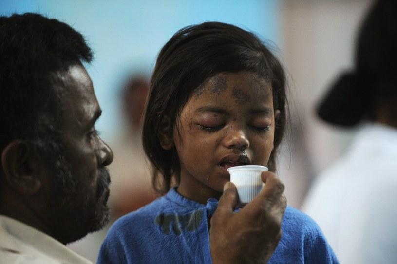 Wśród zabitych i rannych jest wiele dzieci /AFP