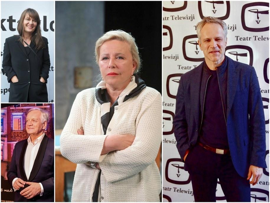 Wśród znanych osób, które zostały zaszczepione w CM WUM poza kolejnością, są m.in.: Krystyna Janda, Maria Seweryn, Andrzej Seweryn i Radosław Pazura /PAP
