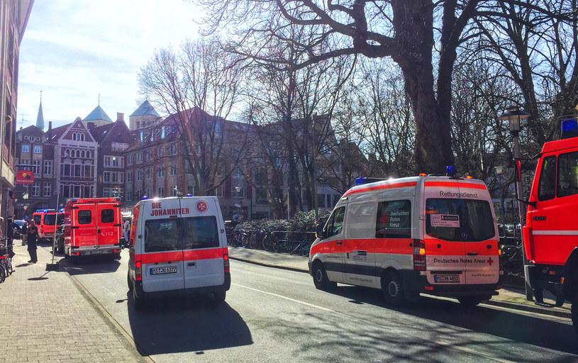 Wstępna informacja: W Muenster nie ucierpieli Polacy /DPA /AFP