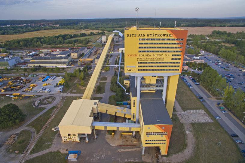 Wstrząs w kopalni miedzi Polkowice-Sieroszowice. Ranni górnicy /Łukasz Korzeniowski /East News