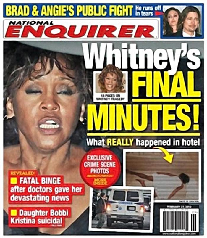 """Wstrząsająca okładka """"National Enquirer"""" /materiał zewnętrzny"""